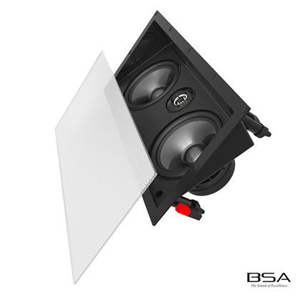 Arandela BSA 2 Vias Angulada RT6A Ceiling/In Wall 70W RMS by Bravox