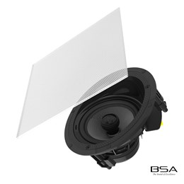"Arandela BSA Coaxial Angulada S5A Ceiling/In Wall 5,5"" 75W RMS by Bravox"