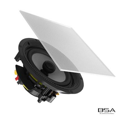 """Arandela BSA Coaxial S5 Ceiling/In Wall 6,5"""" 75W RMS by Bravox"""