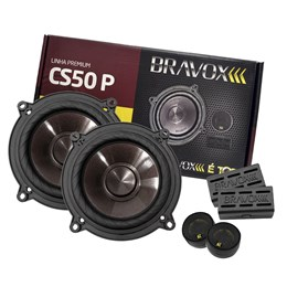 "Kit 2 Vias Bravox 5"" CS50P 120W RMS"