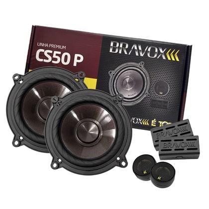 """Kit 2 Vias Bravox 5"""" CS50P 120W RMS"""