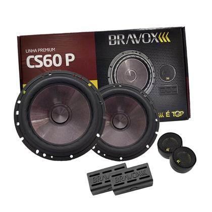 """Kit 2 Vias Bravox 6"""" CS60P 120W RMS"""