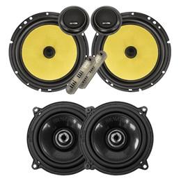 """Kit Alto-falante Bravox CS60K 6"""" + CX50BK 5""""  280W RMS"""