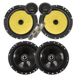"""Kit Alto-falante Bravox CS60K 6"""" + CX60BK 6""""  280W RMS"""