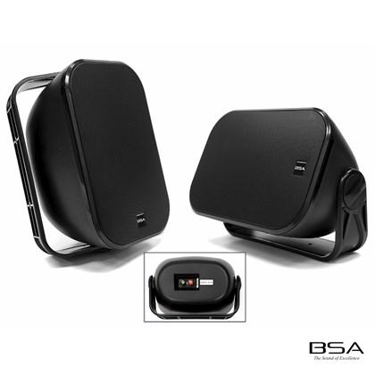 Par Caixa Acústica BSA All Weather AW6-B 120W RMS by Bravox