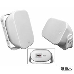 Par Caixa Acústica BSA All Weather AW6-W 120W RMS by Bravox