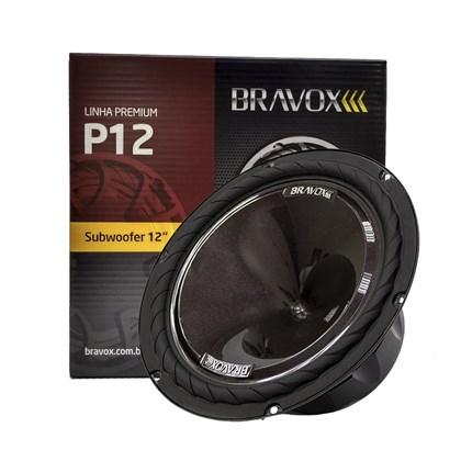 """Subwoofer Bravox P12X-D4 12"""" 220W RMS"""