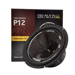 "Subwoofer Bravox P12X-S4 12"" 220W RMS"